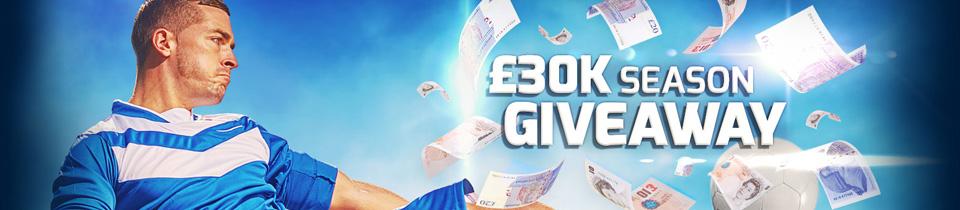 £30k Giveaway