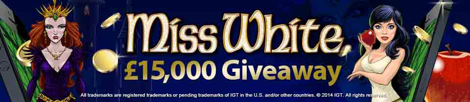 Betfred Games - Miss White 15k Giveaway