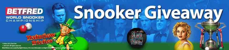 Betfred - World Championship Snooker Online Betting Giveaway - Mobile Betting