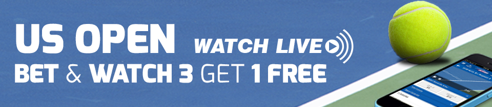 Betfred - Live Stream US Open Tennis
