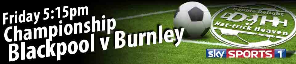 Blackpool v Burnley